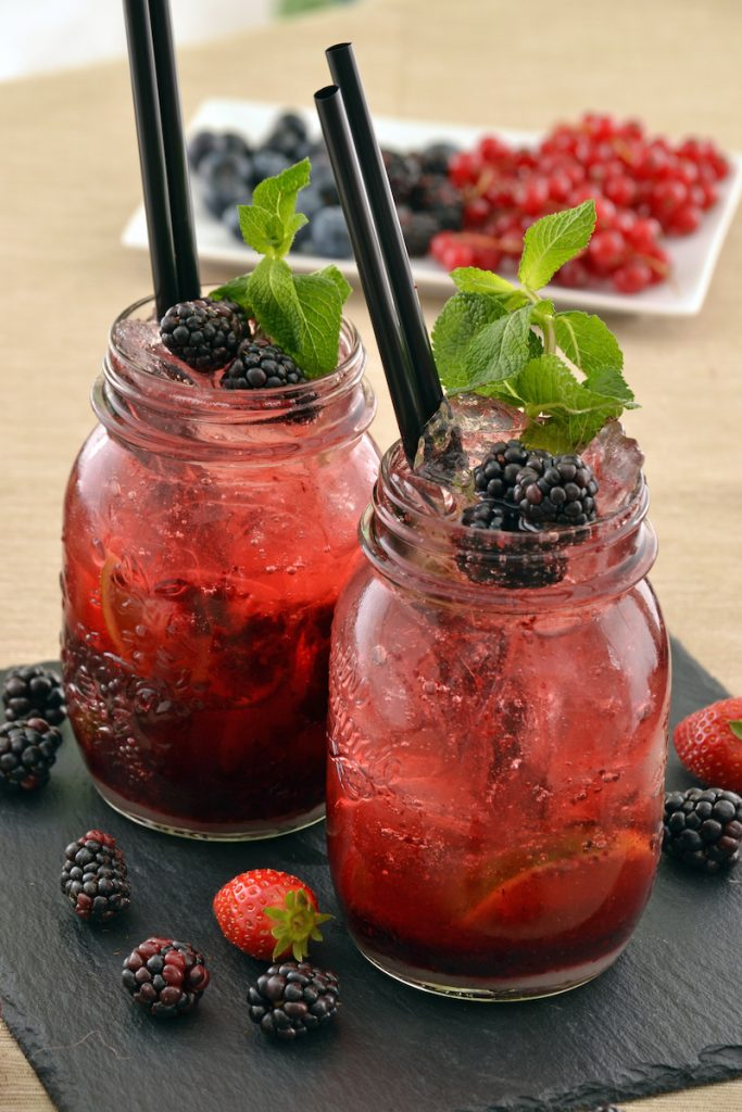 Berry Hibiscus Refresher