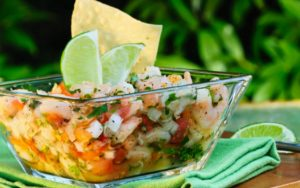 Get Your Shrimp Drunk: Tequila Ceviche