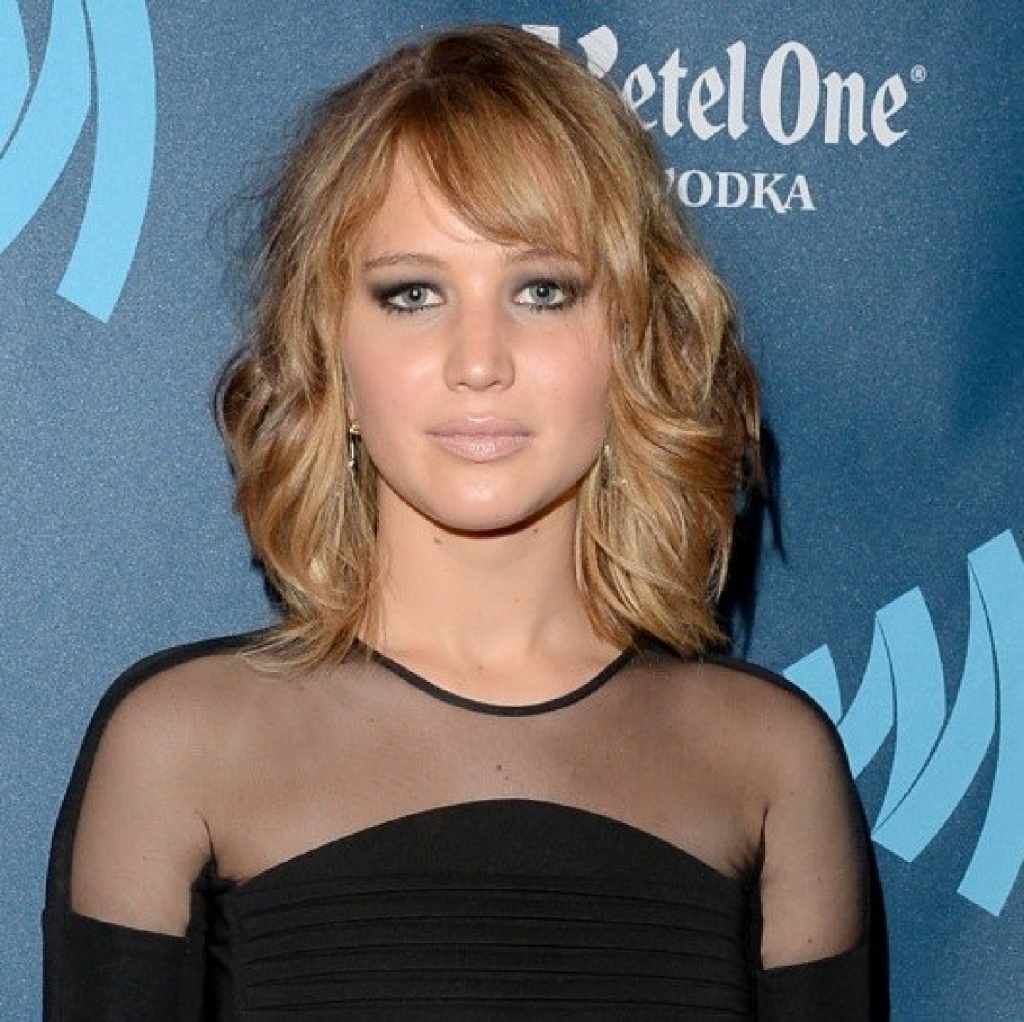 Jennifer Lawrence Debuts a Shaggy Bob