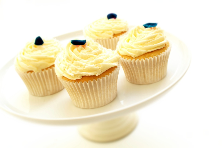 Healthy Cupcakes With Banana Frosting