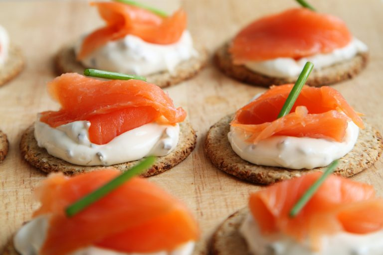 Super Salmon Canapes