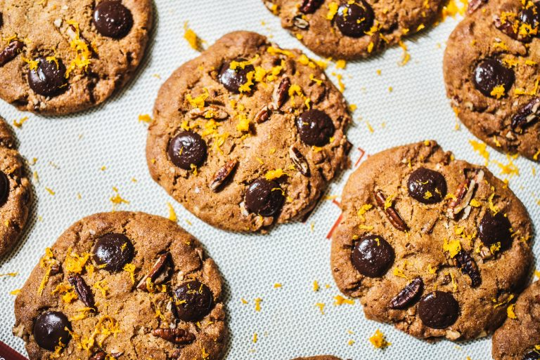Chocolate And Black Bean Cookies