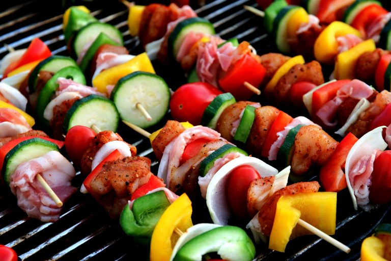 Fun and Fruity Kebabs