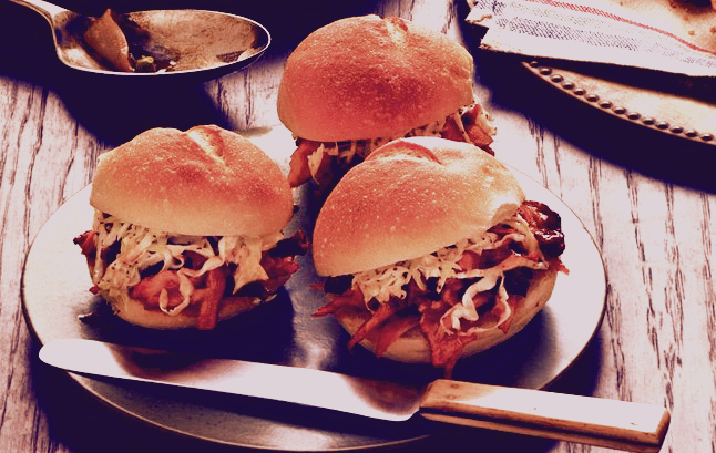 Pulled Turkey Barbecue Sandwiches