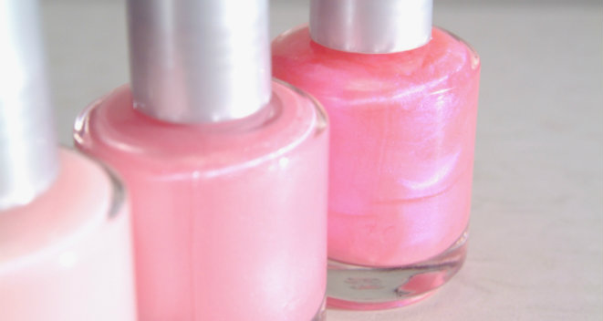 Tickled Pink with Spring Nail Polish