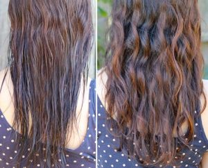 diy beach wave hair spray